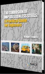 Book cover: Corrosion of Duplex Stainless Steels